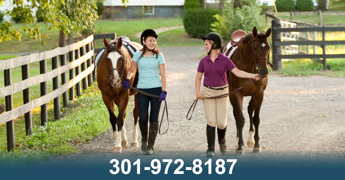 Poolesville Horse Boarding Farm - Potomac Riverside Stables